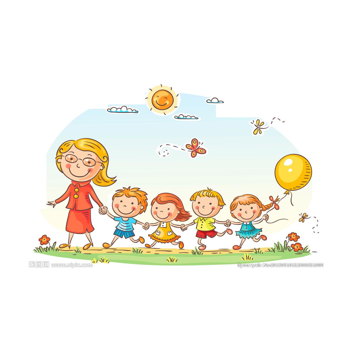 Free school clipart for teachers clip art freeuse download Kindergarten Teacher Pre-school Clip art - child 1200*1200 ... clip art freeuse download