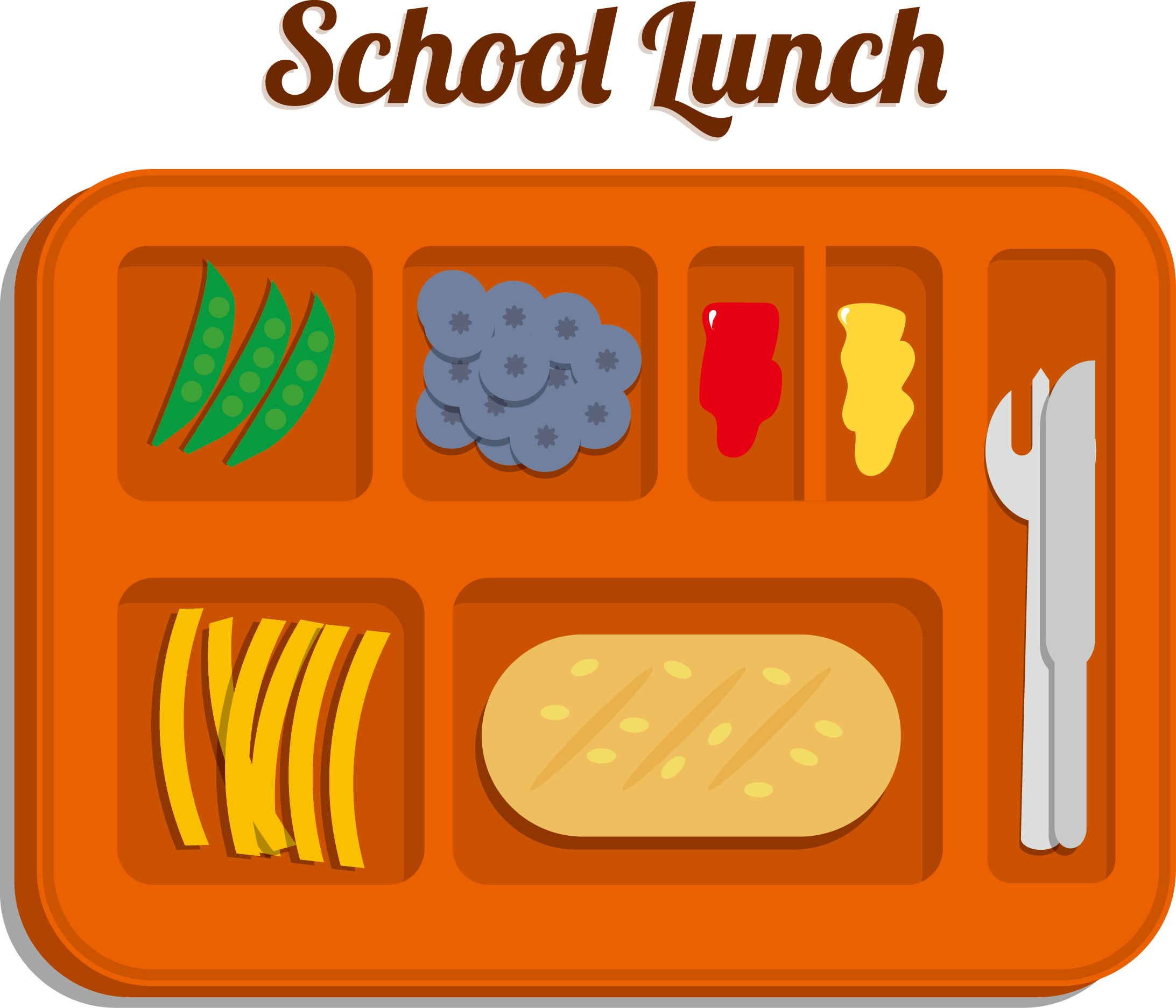 Free school lunch clipart svg free stock Parents / School Meal Information svg free stock