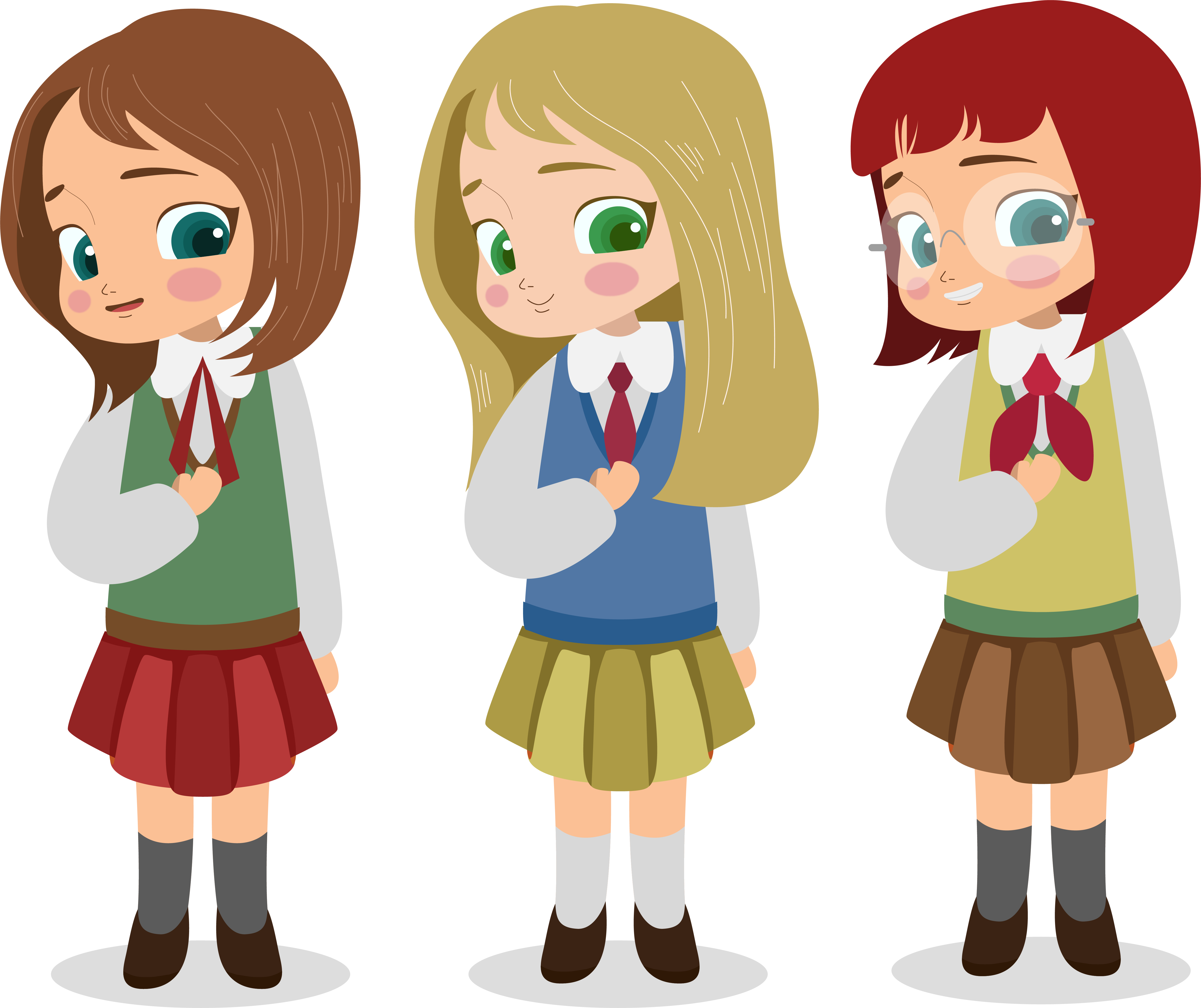 Free school uniform clipart jpg transparent stock School uniform Child Student - school children 5660*4750 transprent ... jpg transparent stock