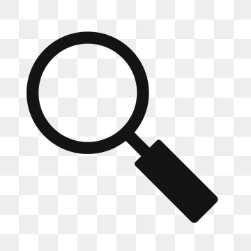 Free search icon clipart. Png vector psd and