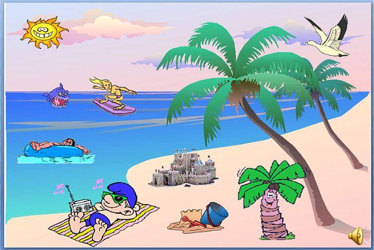Free seaside clipart. Resort desktop png art