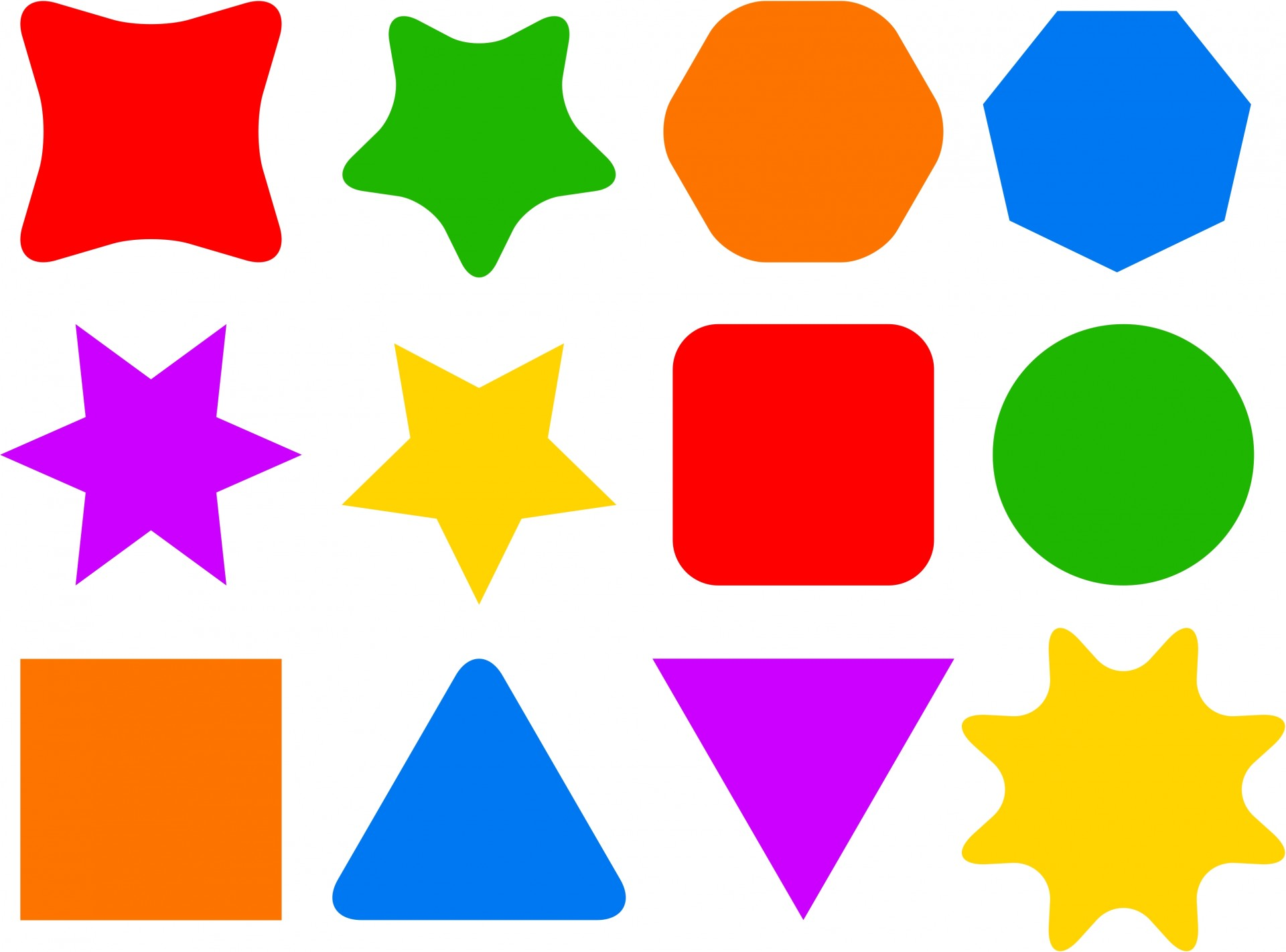 Free shapes clipart banner royalty free Shapes Clipart | Free download best Shapes Clipart on ClipArtMag.com banner royalty free