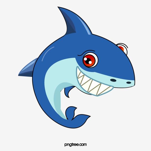 Png vector psd and. Free shark clipart cartoon