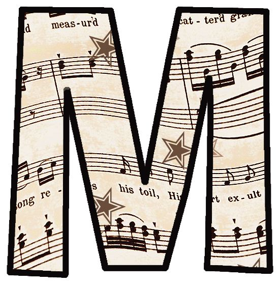 Free sheet music clipart clipart royalty free download ArtbyJean - Vintage Sheet Music: Set 003 - Vintage Sheet Music ... clipart royalty free download