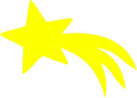 Free shooting star pictures clipart graphic free stock Shooting star clipart free 3 » Clipart Station graphic free stock