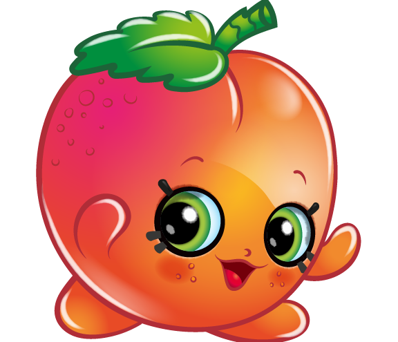 Free shopkins clipart graphic black and white library April Apricot Art Official Shopkins Clipart Free Image graphic black and white library