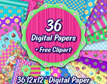 Free shopkins logo clipart png royalty free Shopkins clipart | Etsy png royalty free