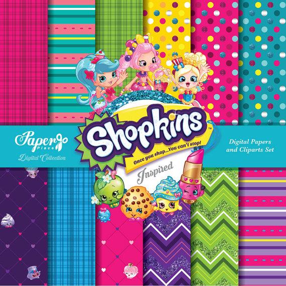 Free shopkins logo clipart clip transparent stock Shopkins clipart | Etsy clip transparent stock