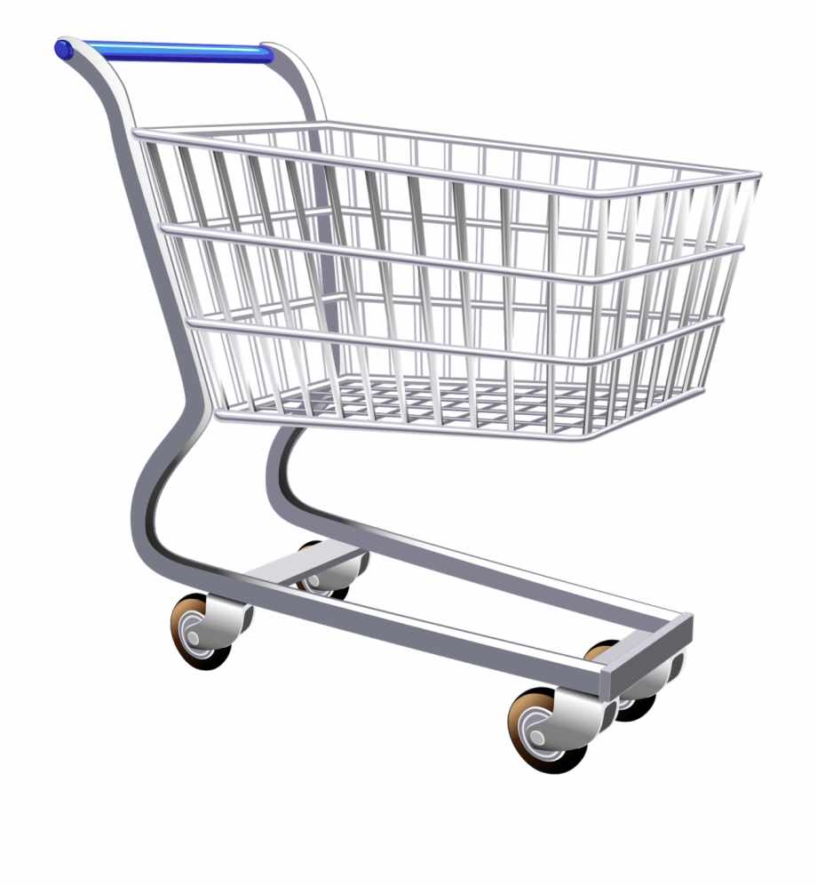 Shopping trolley clipart free graphic transparent download Download Transparent Png - Shopping Trolley Cart Png Free PNG Images ... graphic transparent download