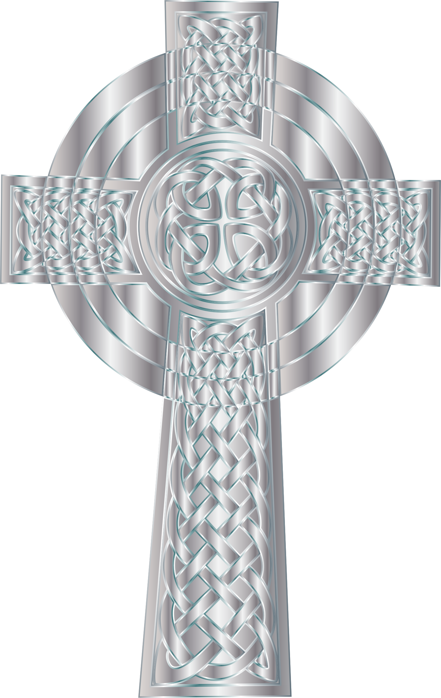 Ornate cross clipart svg royalty free download Silver Celtic Cross 5 Icons PNG - Free PNG and Icons Downloads svg royalty free download