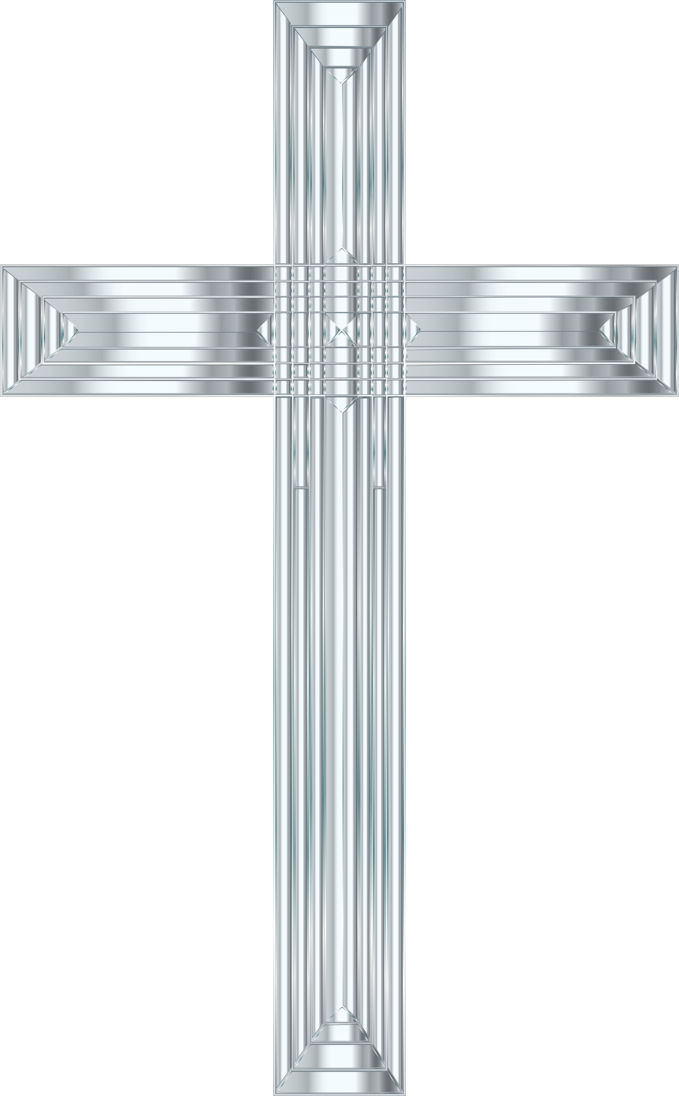 Silver cross clipart png svg black and white stock Silver Cross Icons PNG - Free PNG and Icons Downloads svg black and white stock