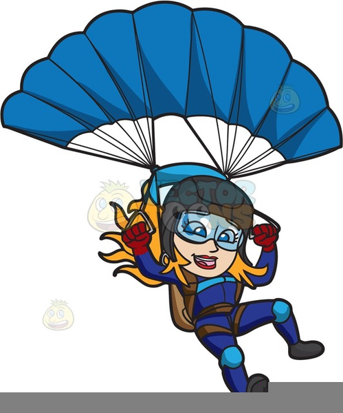 Free skydiving clipart. Images at clker com