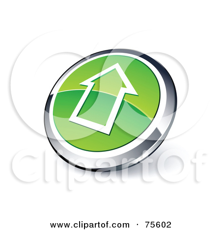Royalty-Free (RF) Clipart Illustration Of A Round Green And Chrome ... png transparent stock
