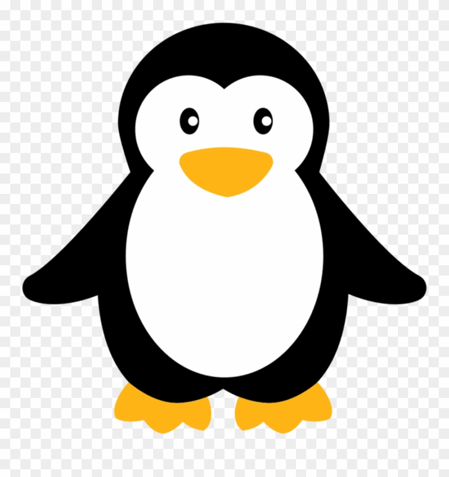 Free small clipart images vector transparent Clip Royalty Free Download Penguin Baby Simple Small - Cute Penguin ... vector transparent