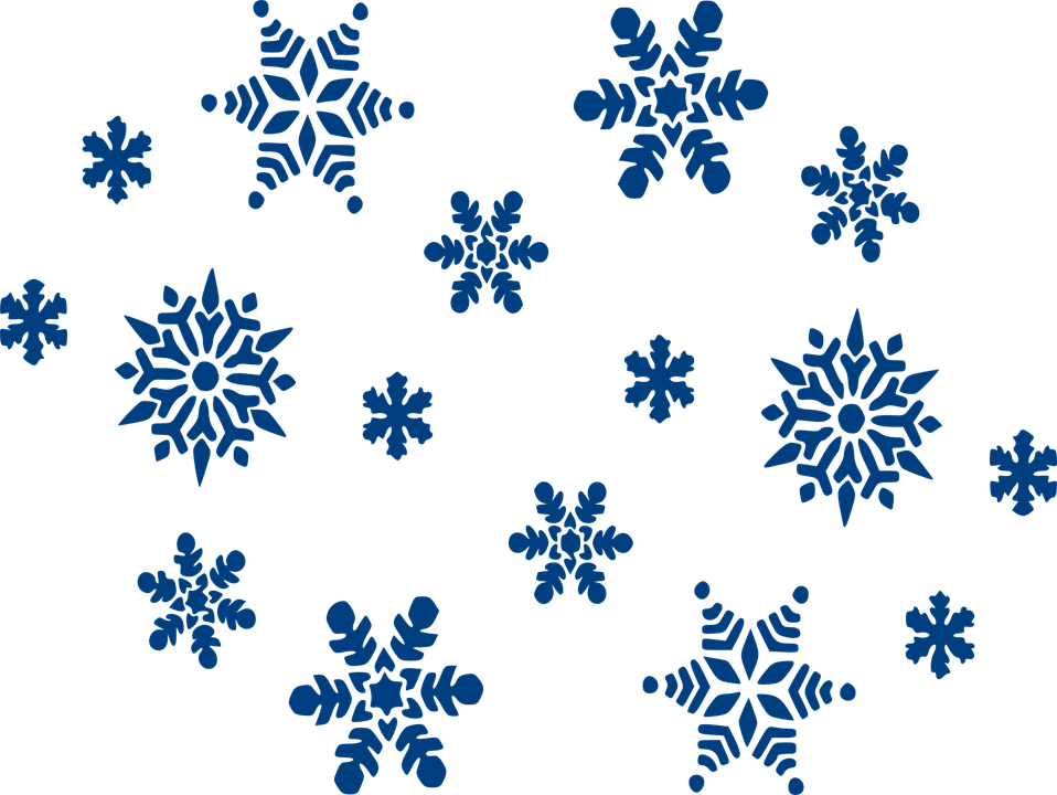 Free snowflake clipart borders jpg royalty free stock Icicle clipart blue snowflake ~ Frames ~ Illustrations ~ HD images ... jpg royalty free stock