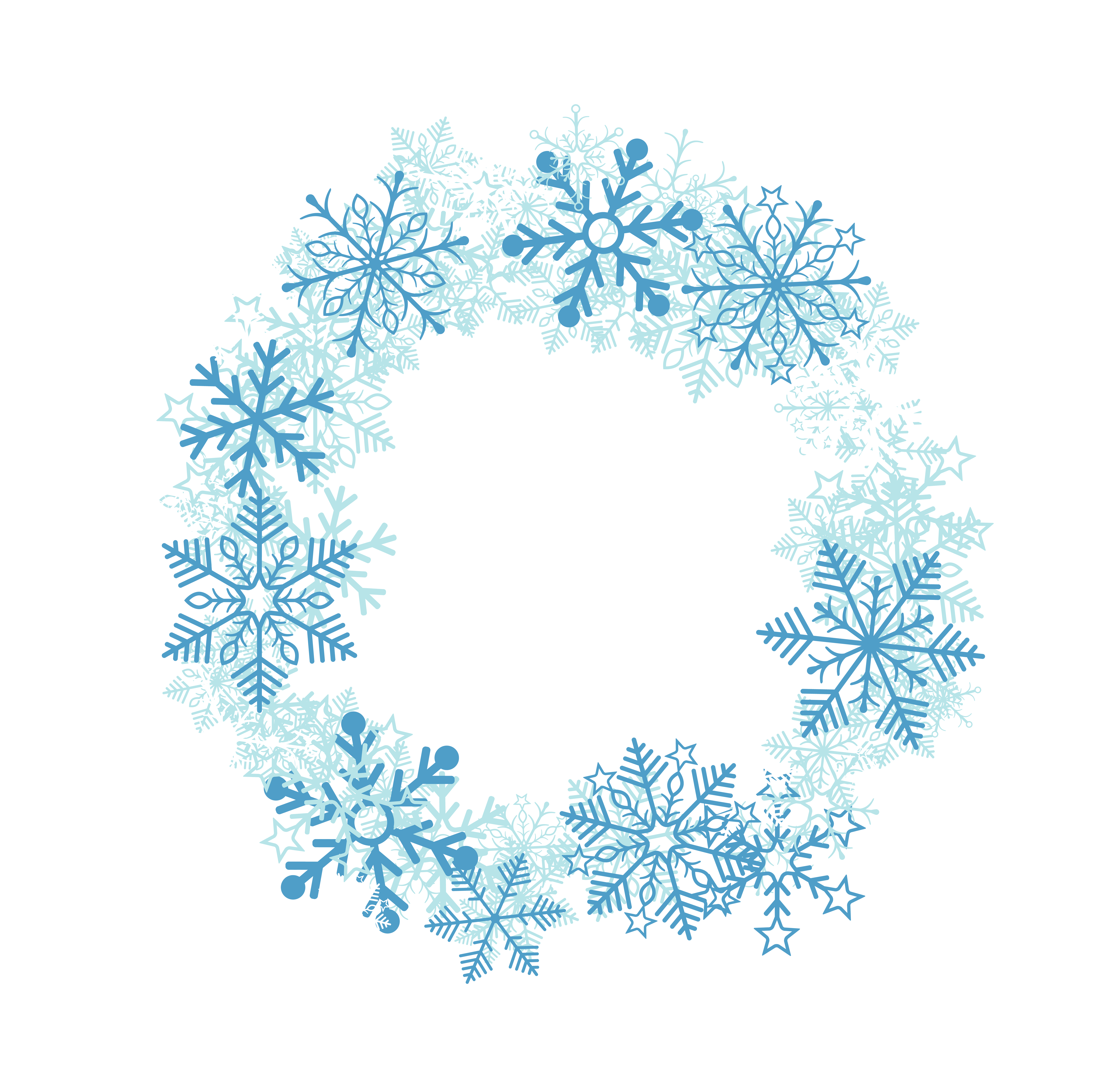 Free snowflake clipart for corner vector freeuse download Snowflakes Decoration Transparent Clip Art Image | Gallery ... vector freeuse download