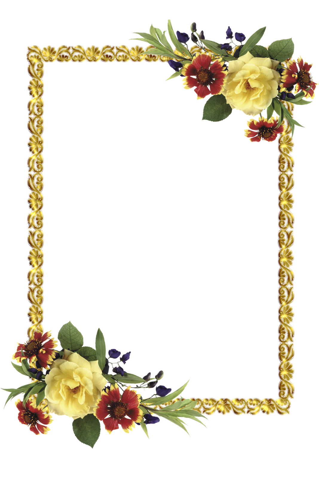 Free snowflake clipart hoto image transparent stock frame png   Frames PNG oval com flores-Central Photoshop   Рамочки ... image transparent stock