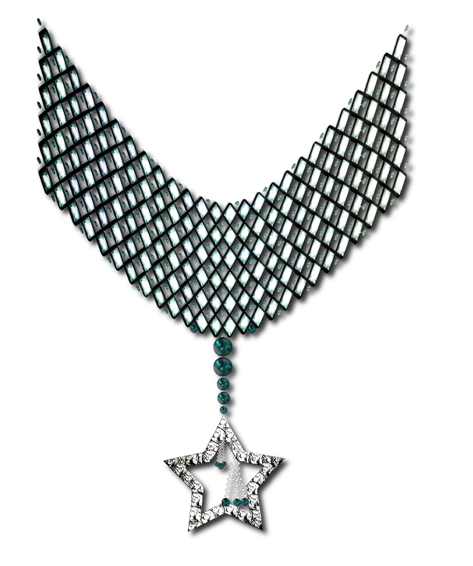 Free snowflake clipart hoto clipart library PNG Necklace by JSSanDA on DeviantArt   Laços, Fitas, Ornamentos ... clipart library