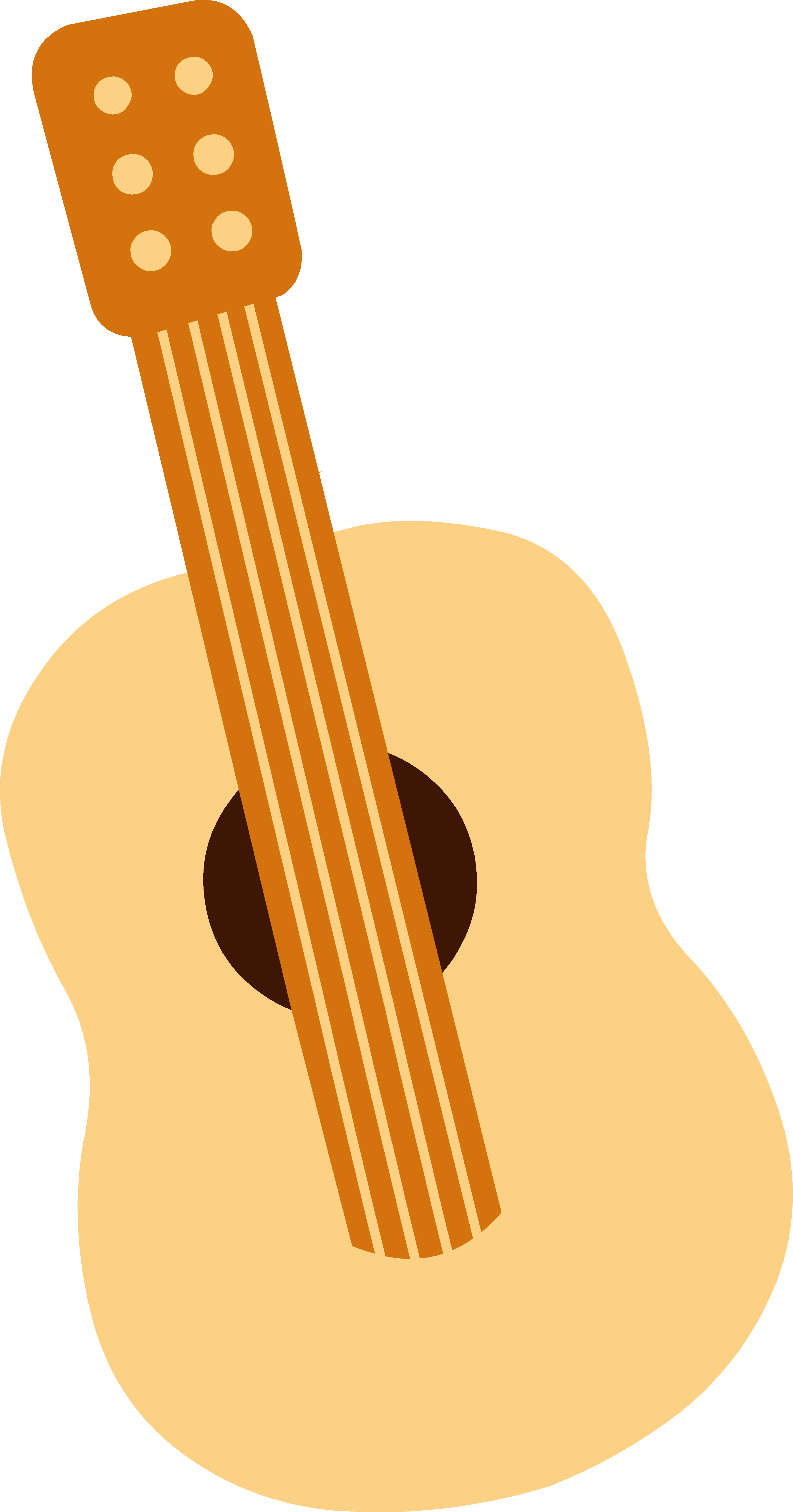 Music snowflake clipart svg royalty free download Cute Mini Toy Guitar Clipart Free | jokingart.com Guitar Clipart svg royalty free download