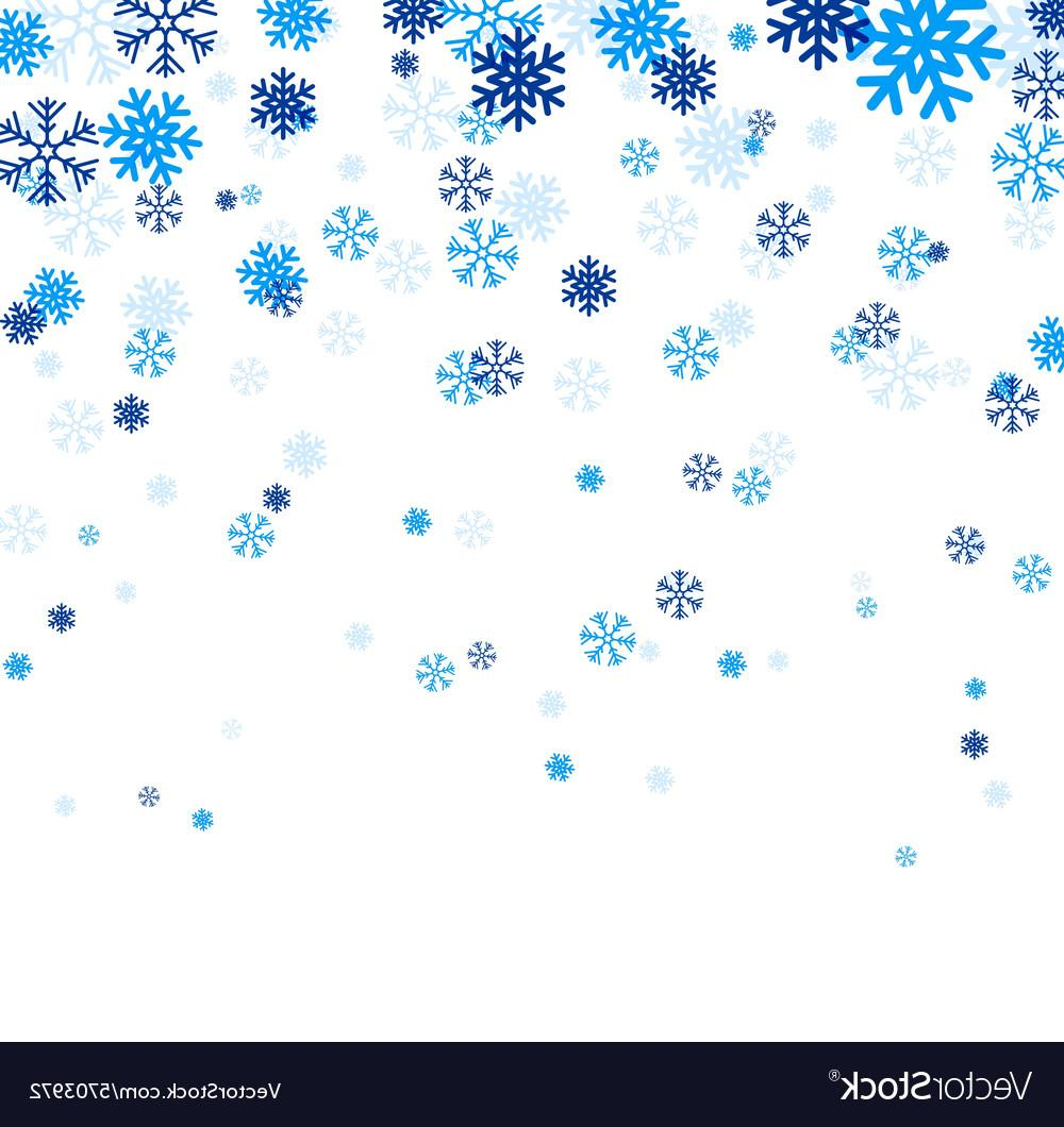 Best falling design art. Free snowflake vector clipart