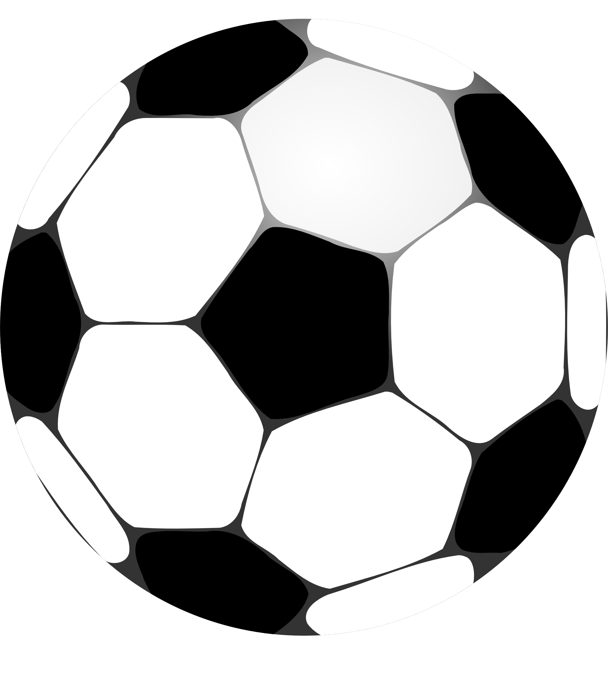 Free football game black and white clipart clip royalty free library soccer ball clip art | mundial | Pinterest | Soccer ball and Clip art clip royalty free library