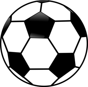 Free soccer ball clip art picture freeuse Black And White Soccer Ball Clip Art at Clker.com - vector clip ... picture freeuse
