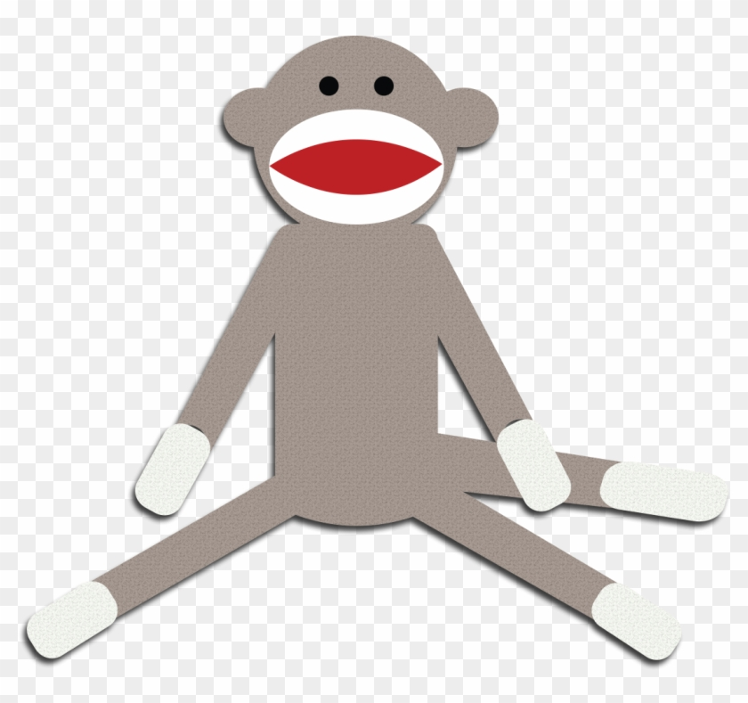 Free sock monkey clipart vector freeuse library Monkey Clipart Cute Monkey Clipart Schylling Sock Monkey - Sock ... vector freeuse library
