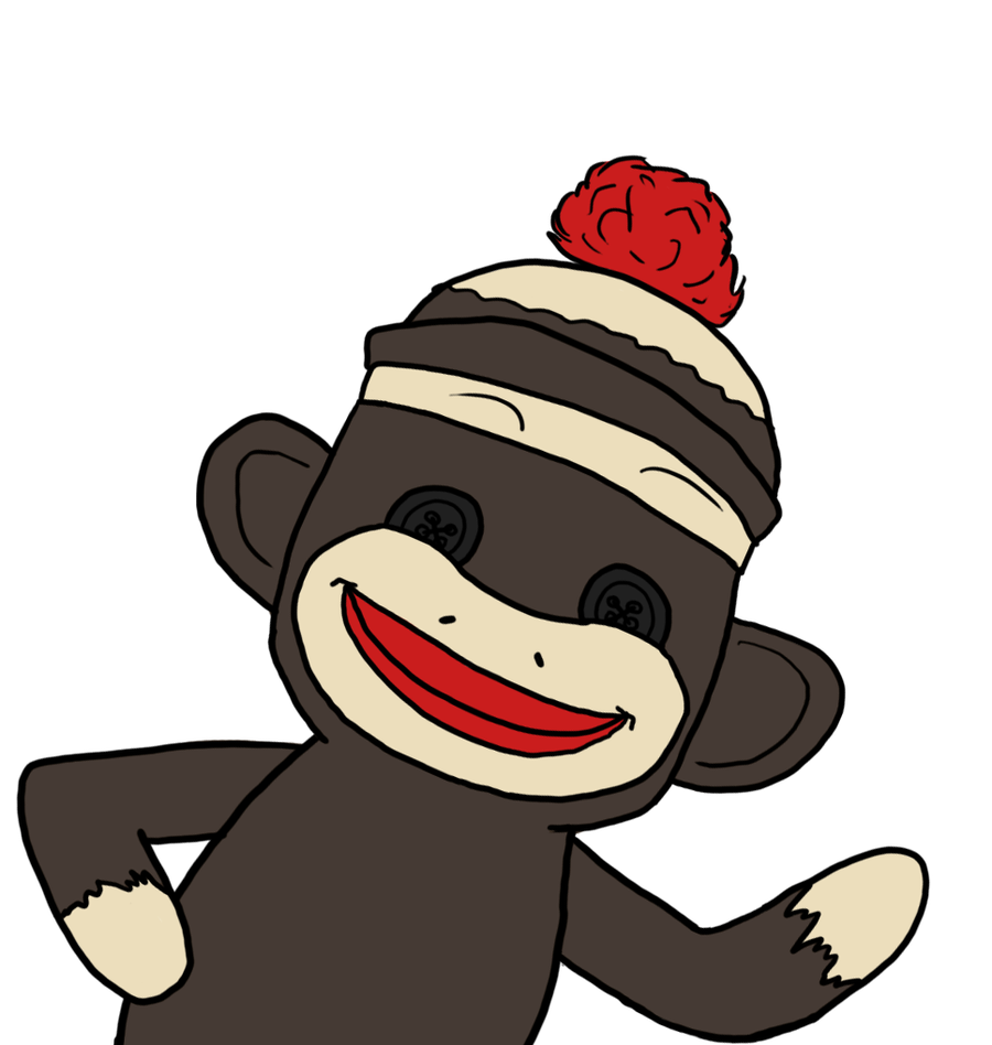 Free sock monkey clipart jpg free sock monkey clip art | ... art drawings animals 2013 ... jpg