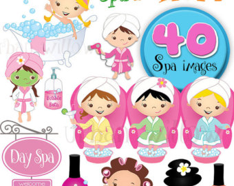 Free spa girl clipart clipart black and white stock Free Spa Girl Cliparts, Download Free Clip Art, Free Clip Art on ... clipart black and white stock