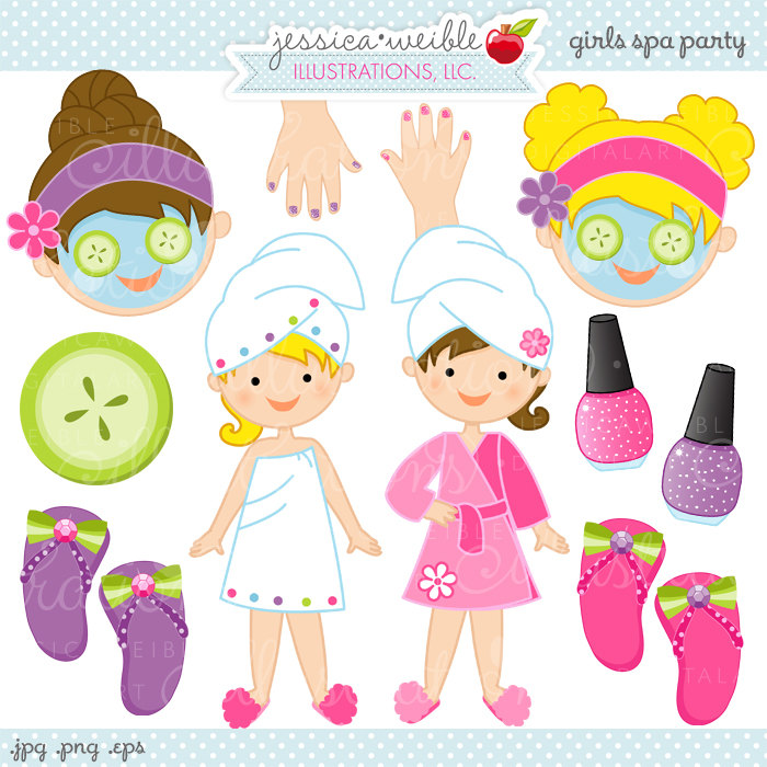 Free spa girl clipart banner royalty free library Free Spa Girl Cliparts, Download Free Clip Art, Free Clip Art on ... banner royalty free library