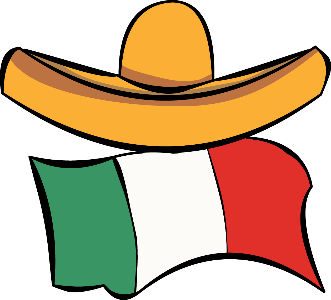 Spanish clipart flag and sombrero vector library download Free Spanish Clip Art Pictures - Clipartix vector library download