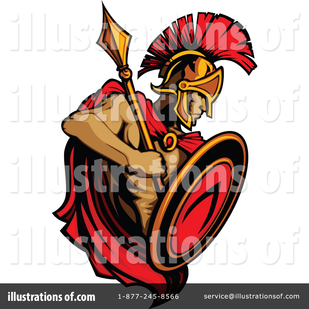 Free spartan clipart graphic royalty free download Spartan Clipart #1088982 - Illustration by Chromaco graphic royalty free download