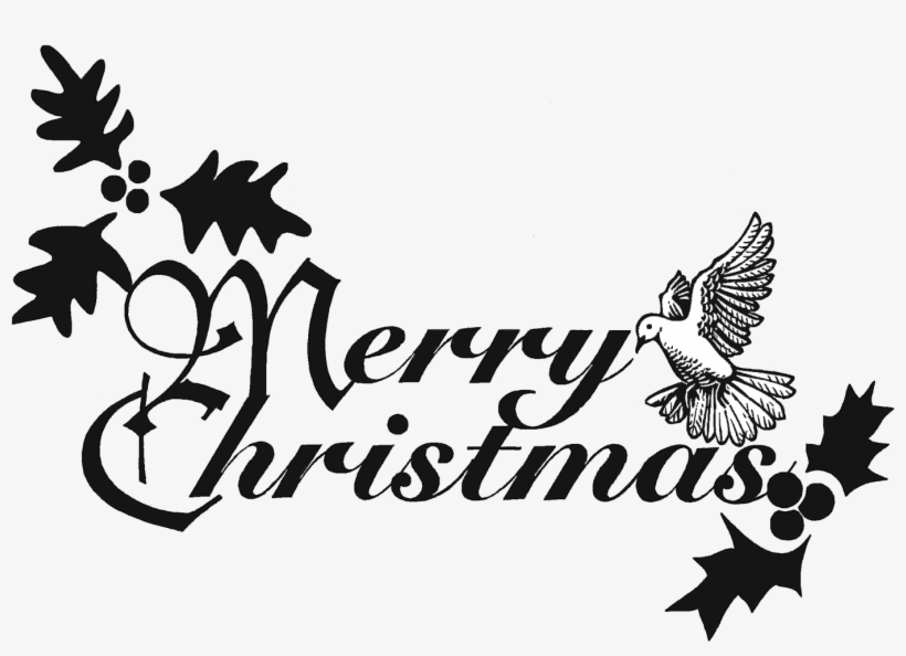 Free spiritual christmas clipart black and white image transparent download Christian Merry Christmas Clipart - Black And White Christmas ... image transparent download