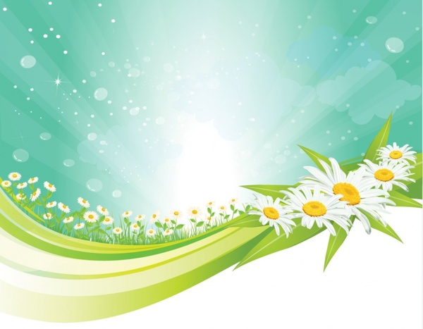 Spring background Free vector in Adobe Illustrator ai ( .AI ... image free library