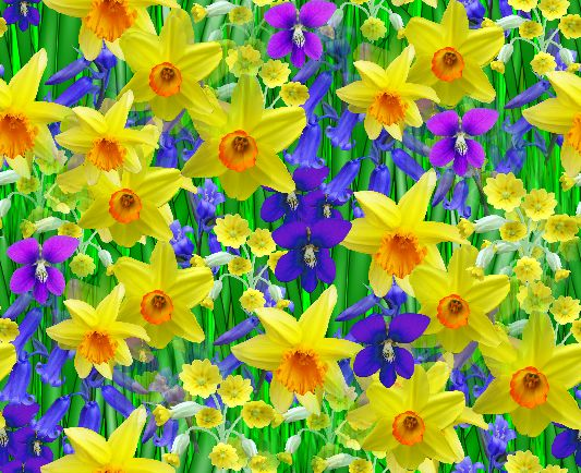Free spring flowers photos picture free Spring Flowers Backgrounds | Free Background Seamless Repeating ... picture free