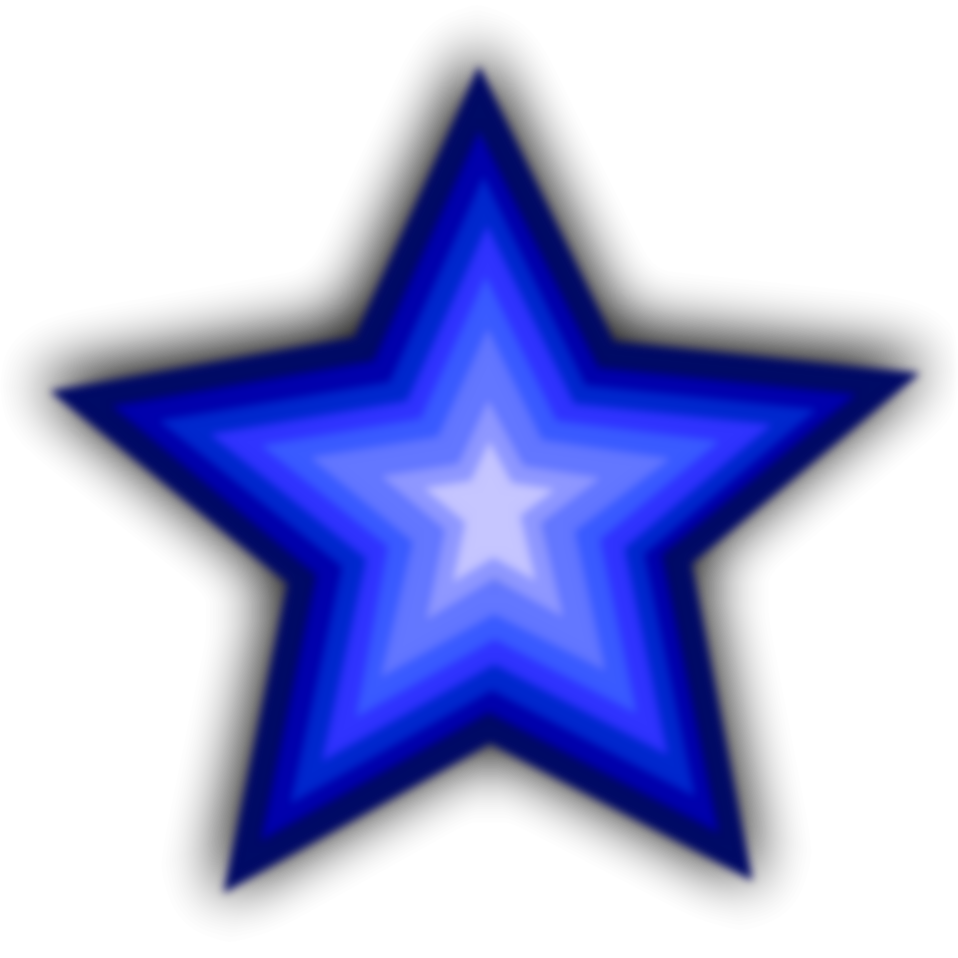 Star background clipart blue png transparent download Star Blue | Free Stock Photo | Illustration of a blue star | # 16604 png transparent download