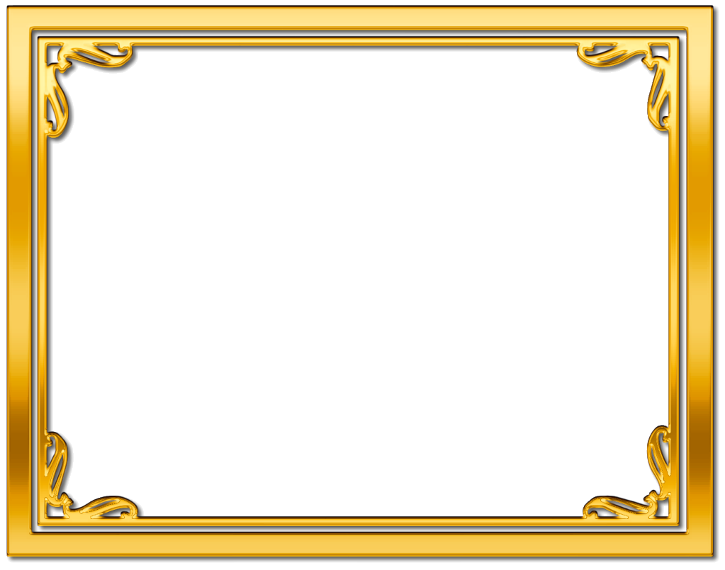 Free star certificate border clipart image library library gold frame border free clipart - Google Search | Life Improvers ... image library library