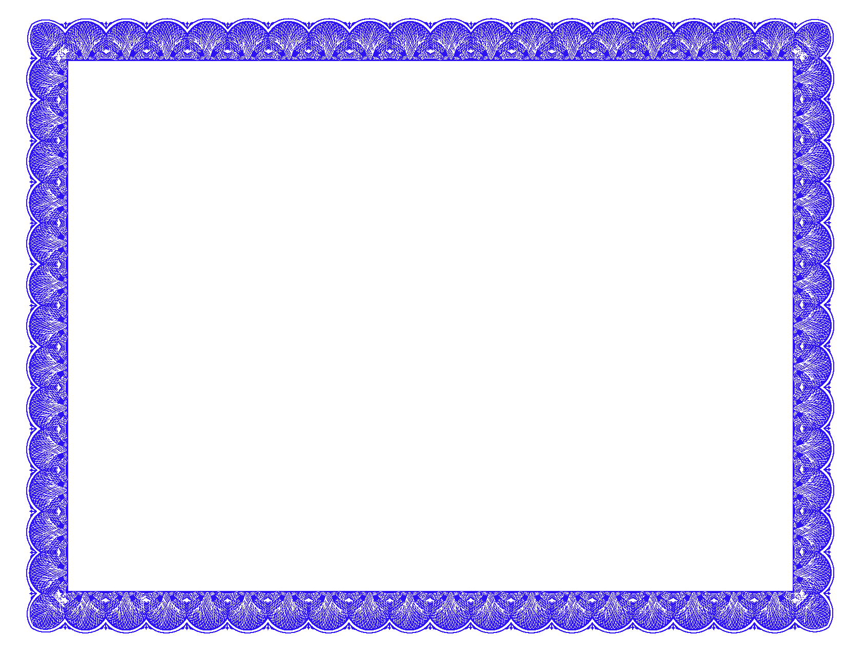 Free star certificate border clipart jpg transparent stock Fancy Borders | PhotoshopForums.com - Blue Fancy Certificate Border ... jpg transparent stock