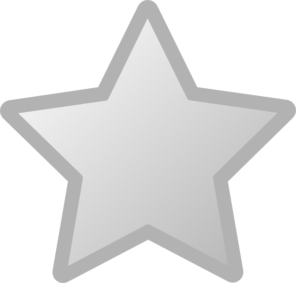 Smiling star clipart black and white graphic stock Free Grey Star Cliparts, Download Free Clip Art, Free Clip Art on ... graphic stock