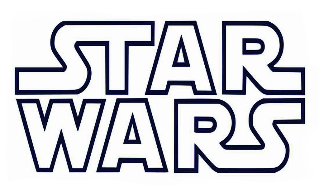 Printable star wars clipart black and white clip transparent Star Wars Black And White Clipart Images Free - Clipart1001 - Free ... clip transparent