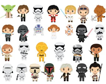 Free star wars clipart images clip black and white download Star Wars Clip Art Free Printable (81+ images in Collection) Page 1 clip black and white download