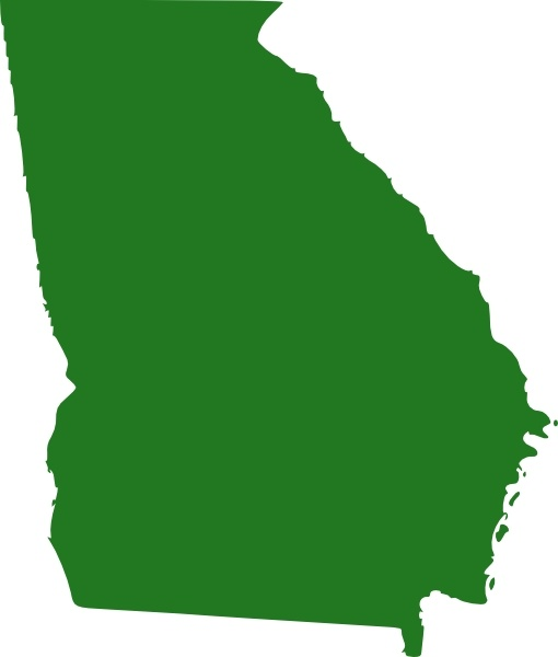 Free state map clipart banner free stock State Of Georgia Map clip art Free vector in Open office drawing ... banner free stock