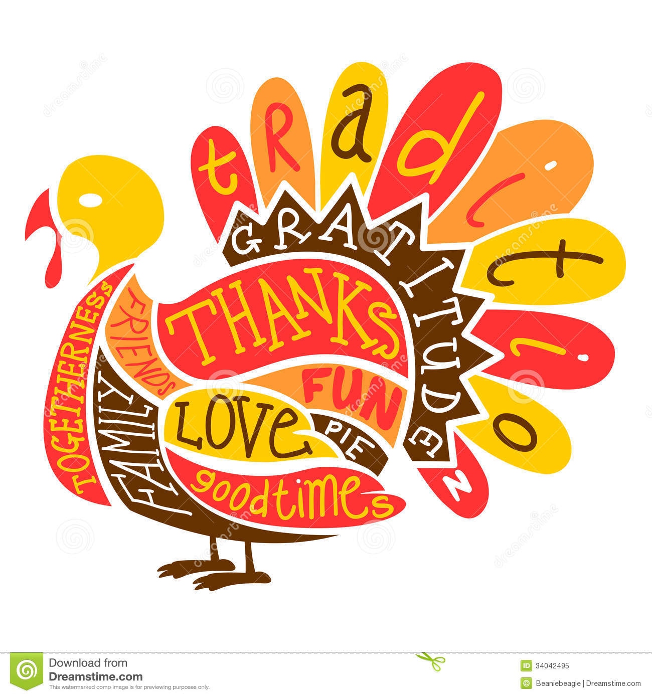 Free stock images clipart clip download Thanksgiving Turkey Royalty Free Stock Photo - Image: 34042495 clip download
