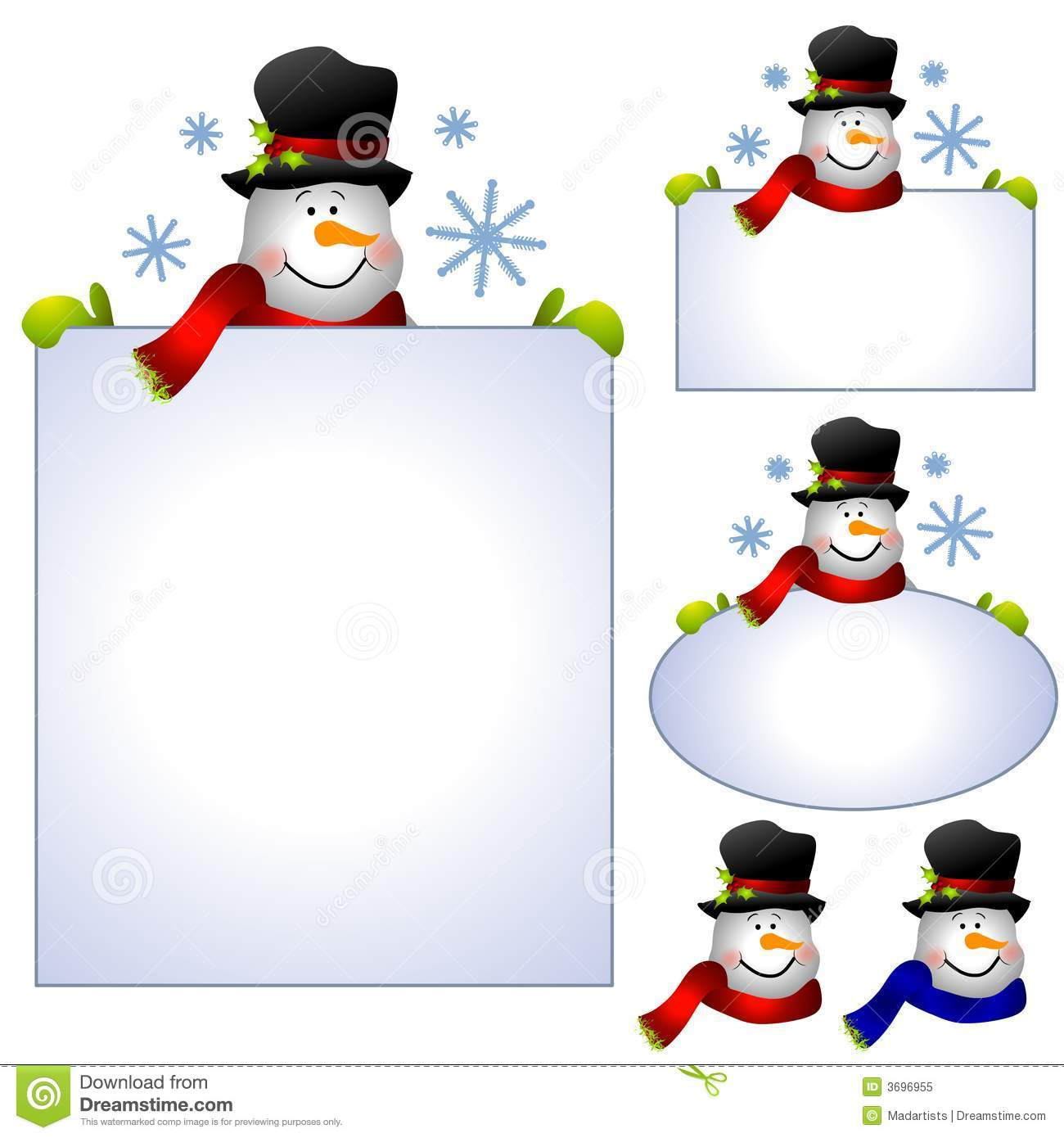Free stock images clipart image black and white stock Snowman Clip Art Isolated Royalty Free Stock Photo - Image: 7049645 image black and white stock