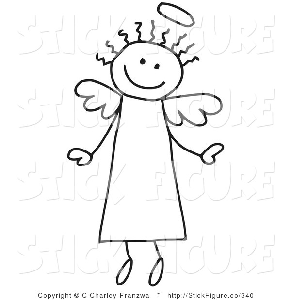 Free stock images clipart image free stock Free Angel Clip Art & Angel Clip Art Clip Art Images - ClipartALL.com image free stock
