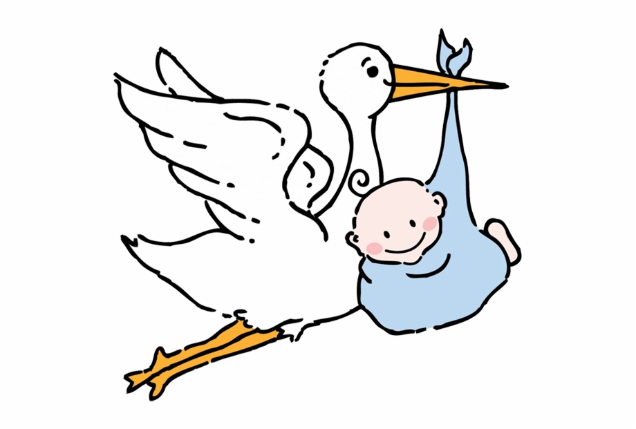 Free stork and baby clipart images to use picture royalty free download Stork Baby - Labor And Delivery Clip Art Free PNG Images & Clipart ... picture royalty free download