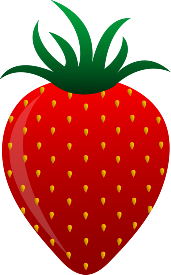 Free strawberry clipart svg library stock Free clip art of a sweet red strawberry | Assorted free clip art ... svg library stock