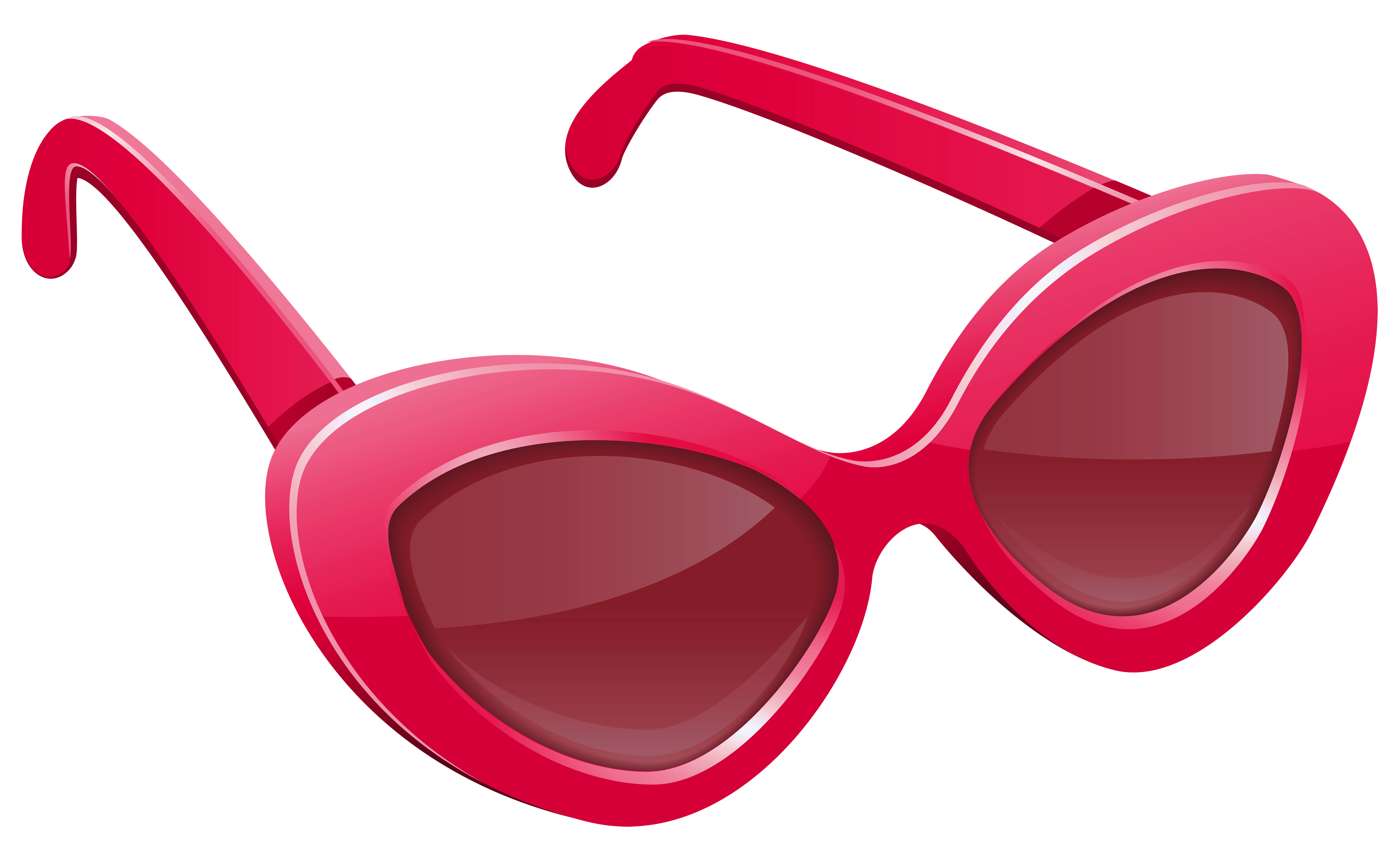 Free sun glasses clipart graphic free download Pink Sunglasses PNG Image | Gallery Yopriceville - High-Quality ... graphic free download