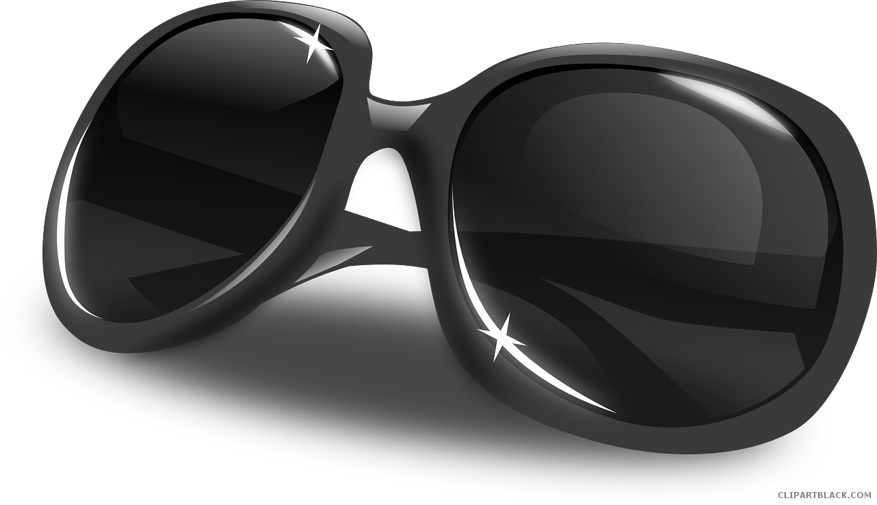 Free sun glasses clipart clip royalty free stock Grayscale Sunglasses Clipart - ClipartBlack.com clip royalty free stock