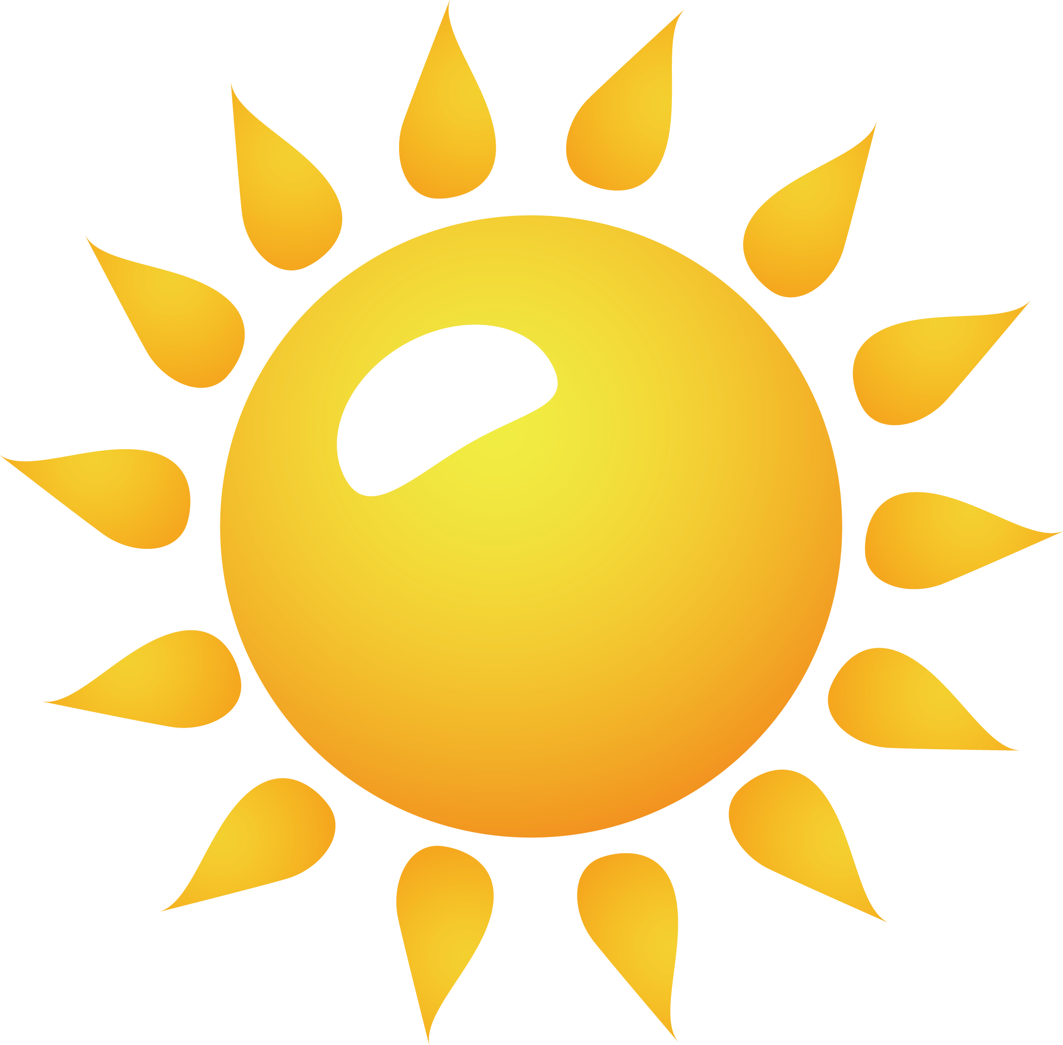 Free sun vector clipart graphic freeuse Clip art - Sun png vector element 2147*2110 transprent Png Free ... graphic freeuse